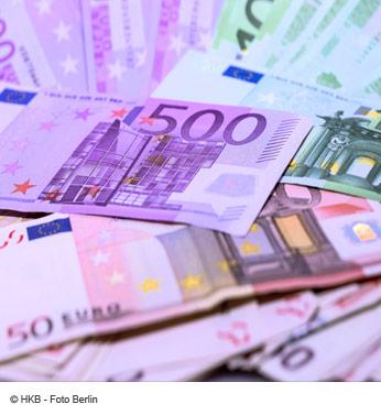 Bargeld Geldscheine